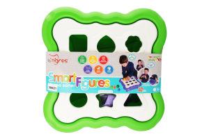 Іграшка-сортер для дітей від 12міс №39521 Smart Figures Tigres 1шт