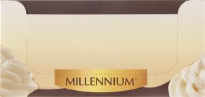Шоколад молочний Mousse&Delicate Milk Millennium м/у 38г