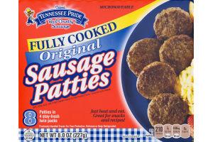 Odom's Tennessee Pride Sausage Patties Original - 8 CT