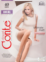 Колготки жіночі Conte Ideal №16С-30СП 40den 4-L bronz