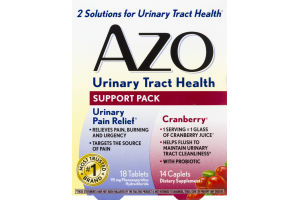 AZO Urinary Tract Health Support Pack - 32 CT