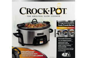 Crock-Pot Programmable - 6 Quart
