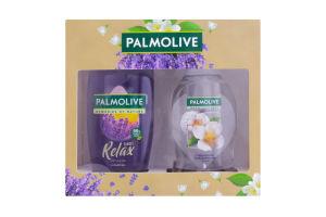 Набор подарочный Гель для душа Relax+Мыло жидкое для рук Jasmine Моменты Palmolive 1шт