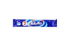 Шоколадний батончик Milky Way (2*21,5) 43г