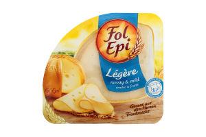 Сир 32.4% напівтвердий Legere Fol Epi лоток 150г