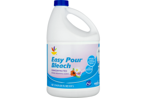 Ahold Concentrated Easy Pour Bleach Spring Meadows