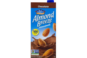Blue Diamond Almonds Chocolate Almond Breeze Almondmilk