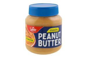 Масло арахісове зі шматочками горіхів Sante c/б 350г