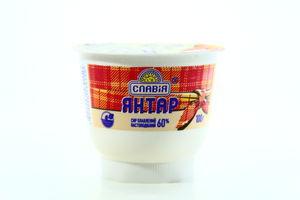 Сыр плавленый Янтарь Славия п/б 100г