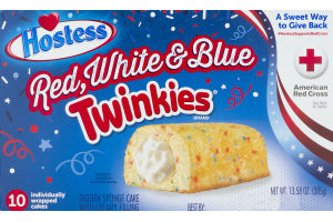 Hostess Twinkies Red, White & Blue - 10 CT