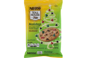 Nestle Toll House Chocolate Chip Cookie Dough Holiday