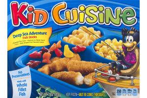 Kid Cuisine Deep Sea Adventure Fish Sticks