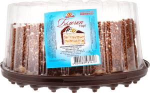Торт 1,0 кг Цар Хліб Білочка п/уп