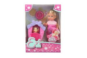 Кукла для детей от 3-х лет Dog house Evi love Simba 1шт
