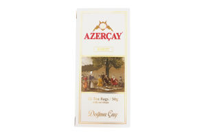 Чай черный Buket Azercay к/у 25х2г