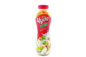 Йогурт 2,5% Яблоко-мюсли Чудо п/б 385г