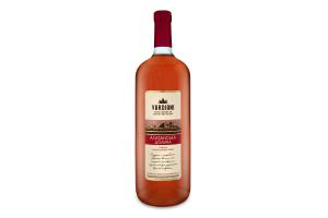 Вино 1.5л 9-13% рожеве напівсолодке Алазанська долина Vardiani пл