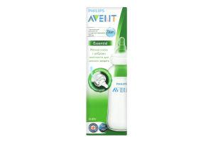 Пляшечка для годування 240мл для дітей від 3-х місяців Essential Avent 1шт