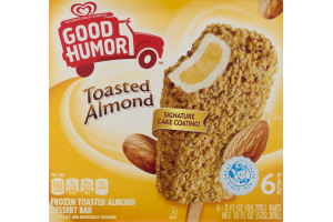 Good Humor Frozen Bar Toasted Almond - 6 CT