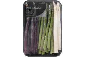 Ahold Fresh Vegetables Multi-Color Asparagus
