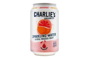 Вода минеральная Charlie's с соком грейпфрута ж/б