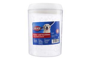 Банка для зберігання їжі для собак 1.5л Trixie 1шт