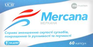 Добавка дієтична Mercana 60шт