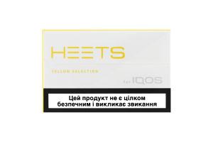 Изделие табачное д/электр нагр Heets Yellow