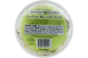 Nature's Kitchen Stuffing Mix with Herbs