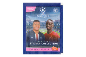 Стикеры UEFA Champions League 2019/20 Topps 5шт
