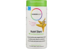 Rainbow Light Nutri Stars Food-Based Multivitamin Chewable Tablets - 120 CT