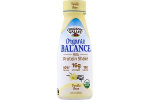 Organic Valley Organic Balance Milk Protein Shake Vanilla Bean
