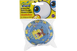 Wilton Sponge Bob Squarepants Baking Cups - 50 CT