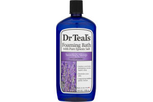 Dr Teal's Pure Epsom Salt Foaming Bath Soothe & Sleep With Lavender