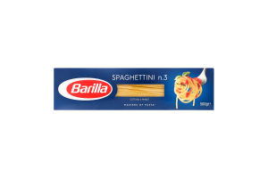 Изделия макаронные Spaghettini №3 Barilla к/у 500г