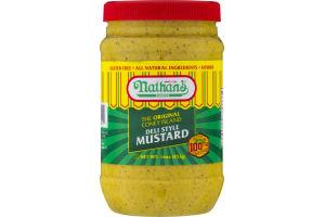 Nathan's The Original Coney Island Deli Style Mustard