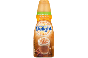 International Delight Sugar Free Gourmet Coffee Creamer Caramel Macchiato