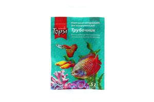 Корм сухой натуральный для аквариумных рыб Трубочник Topsi 5г