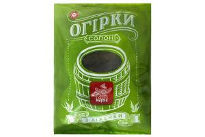 Огірки солоні З діжечки Чудова марка м/у 1050г