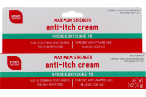 Smart Sense Maximum Strength Anti-Itch Cream