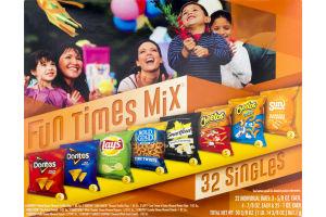 Frito Lay Snacks Fun Times Mix - 32 CT