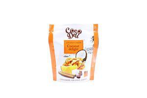Чіпси Cocodeli кокосові зі смаком апельсина 15г х30