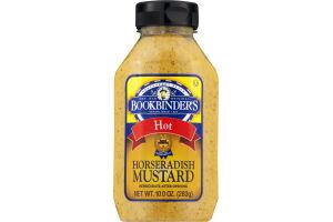 Bookbinder's Hot Horseradish Mustard