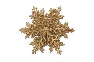 Прикраса новорічна Сніжинка об'ємна 3Д Mislt 1шт