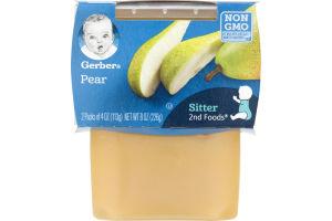 Gerber 2nd Foods Pears - 2 CT