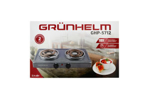 Плита электрическая 2.4 кВт GHP-5712 Grunhelm 1шт