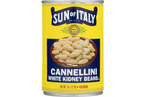 Sun of Italy Cannellini White Kidney Beans