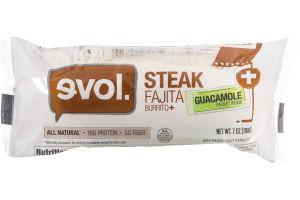 evol. Steak Fajita Burrito + Guacamole Packet