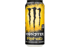 Monster Rehab Energy Iced Tea + Lemonade + Energy