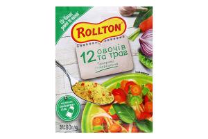 Приправа універсальна 12 овочів та трав Rollton м/у 80г